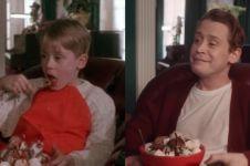 Begini jika Macaulay Culkin ulang adegan Home Alone 28 tahun lalu