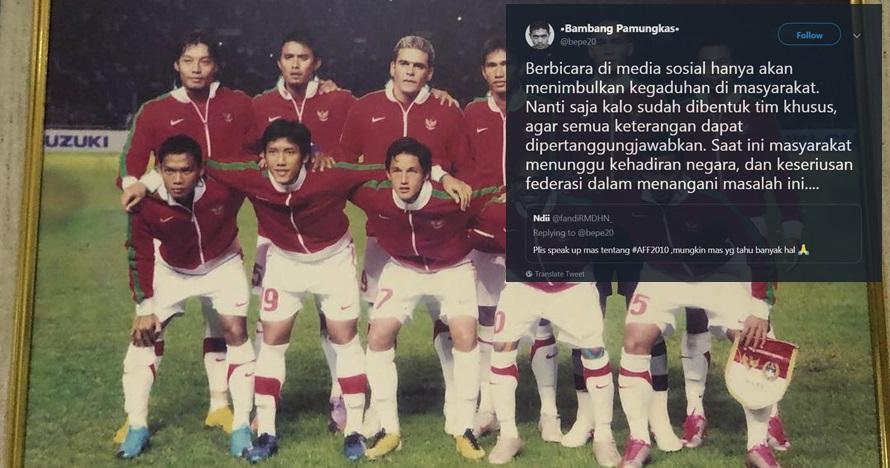 Isu pengaturan skor final Piala AFF 2010, ini respons para pemain