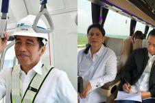 7 Momen Jokowi naik transportasi umum, terbaru naik bus 380 km