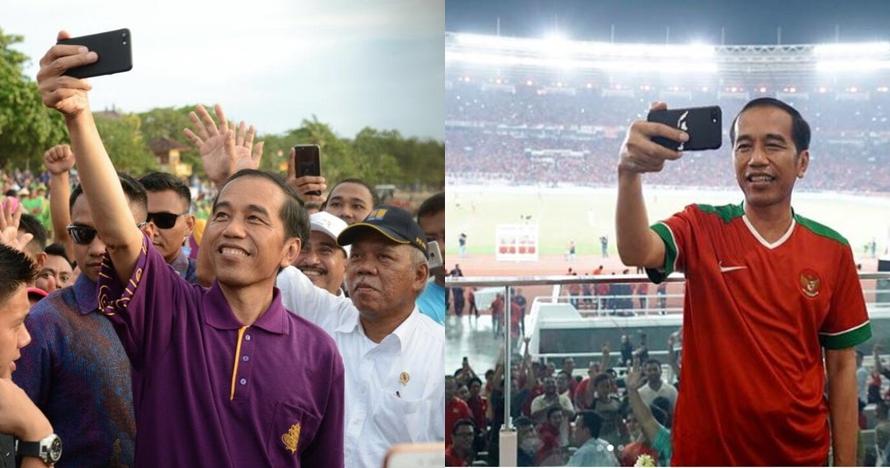 10 Momen Jokowi selfie di berbagai acara, dekat dengan rakyat