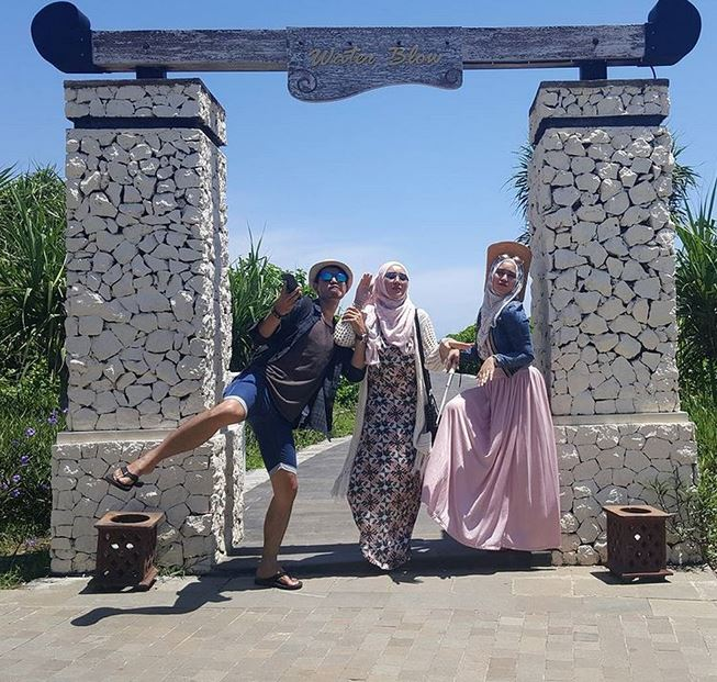 gaya traveling bebi silvana instagram