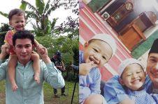 12 Momen kedekatan Mandala Shoji & anaknya, kerap diajak syuting