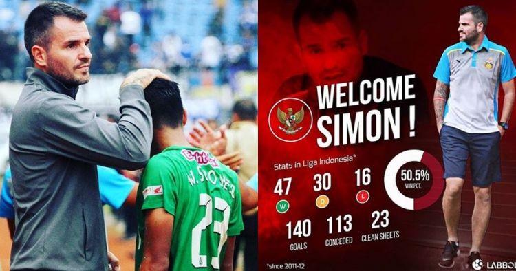 7 Transformasi pelatih timnas Simon McMenemy, ganteng sejak kecil