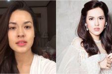 Beda penampilan 10 diva Indonesia pakai dan tanpa makeup