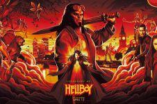 7 Fakta terbaru film Hellboy reboot 2019, pemain Hellboy diganti