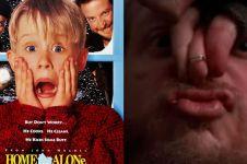 10 Aksi jahil Kevin 'Home Alone' ini kocaknya bikin minta ampun