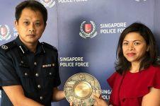 Gagalkan pencurian, wanita Indonesia dipuji kepolisian Singapura