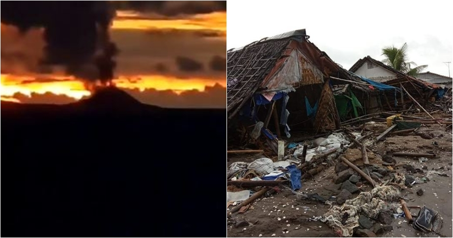 Saksi tsunami Banten: ratusan orang diterjang gelombang 7 meter