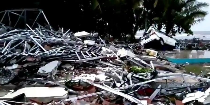 Sedang gathering, rombongan Kemenpora jadi korban tsunami Banten