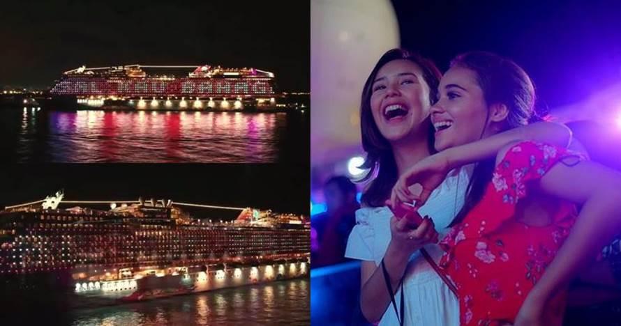 11 Momen seru gala premiere Asal Kau Bahagia di kapal pesiar