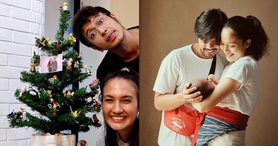 10 Seleb ini rayakan Natal pertama bareng pasangan usai nikah