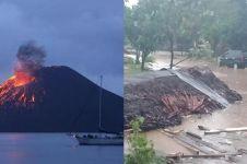 12 Tsunami yang melanda Selat Sunda, terjadi sejak tahun 416