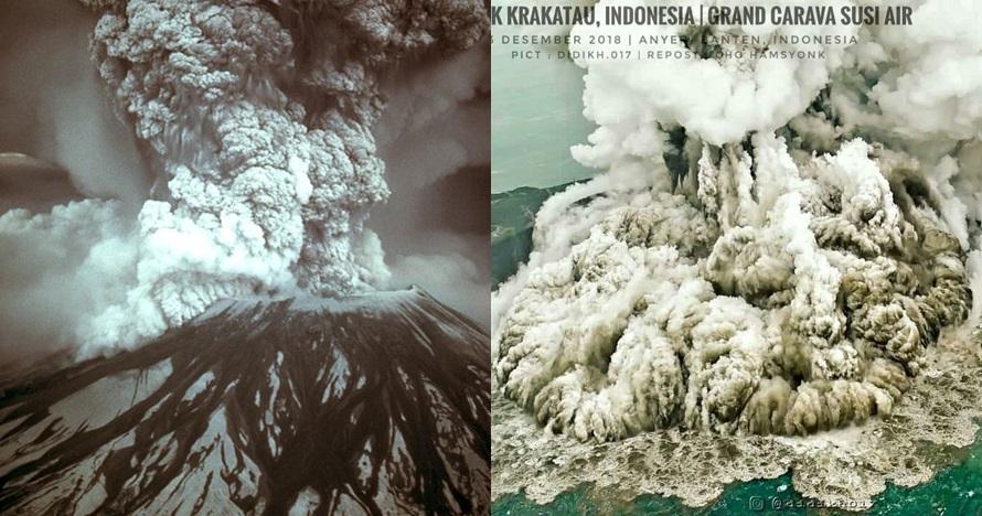 Daftar tsunami paling mengerikan akibat letusan gunung berapi
