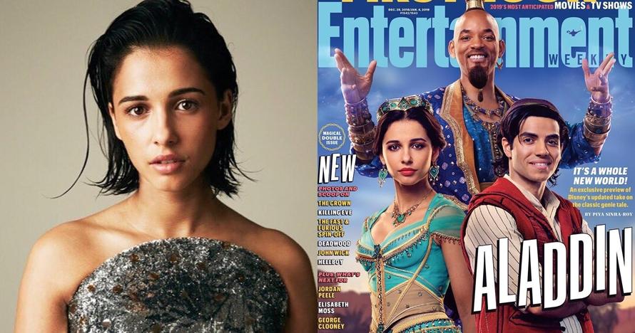 10 Potret Naomi Scott pemain film Aladdin yang tuai kontroversi