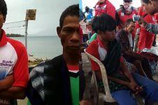 Nelayan saksikan Anak Krakatau longsor, sebut ombak 12 meter