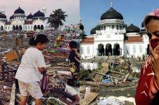 14 Tahun tsunami Aceh, 15 foto kenangan ini bikin termangu