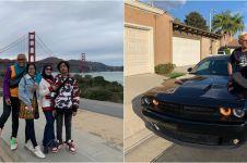 12 Liburan Uya Kuya di Amerika, pakai mobil ala Fast and Furious