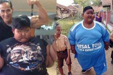 7 Perubahan Aria Permana bocah obesitas 192 kg, bikin pangling