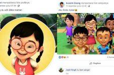 12 Status lucu karakter Upin Ipin di Facebook ini bikin ngakak