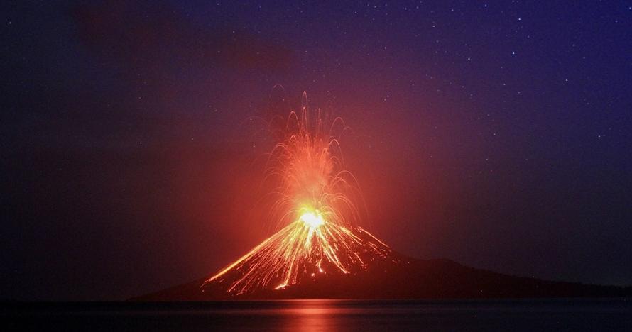 7 Karya seni ini kisahkan dahsyatnya erupsi Gunung Krakatau 1883