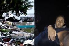 Kisah keajaiban bocah 12 tahun selamat dari tsunami Banten