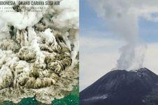 Ini peta rawan bencana Anak Krakatau, warga perlu siapkan masker