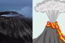 Status Anak Krakatau level 3, ini pengertian 4 level gunung api
