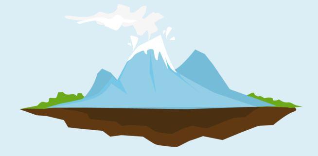 level gunung api merdeka