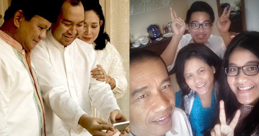 5 Momen mirip antara Jokowi dengan Prabowo