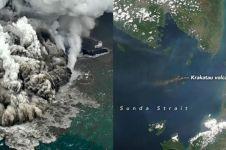 Prediksi jarak waktu tsunami menerjang jika Anak Krakatau erupsi