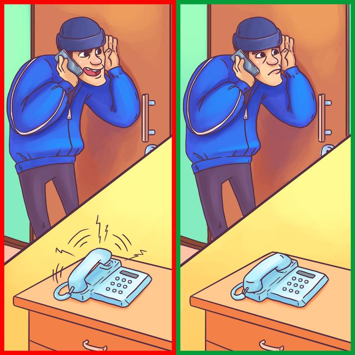 Matikan Telepon Rumah Anda Saat Anda Pergi untuk Mencegah Pencuri rumah