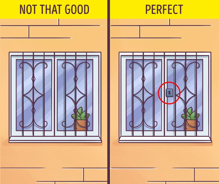 Gunakan Tralis dan Kunci di Setiap Jendela Rumah Anda