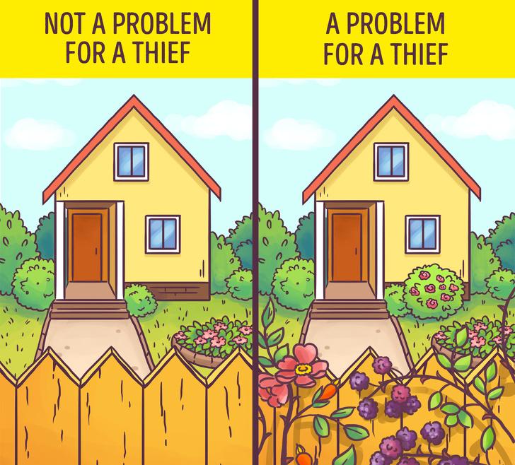 tips jitu mengamankan rumah dari maling ©brightside.me