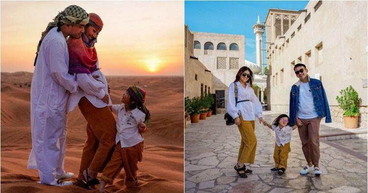 10 Momen liburan keluarga Sarwendah di Dubai, seru banget