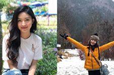 9 Potret Natasha Wilona liburan tanpa pacar, tetep happy