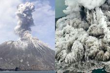 Evolusi Anak Krakatau pascaerupsi 1883, tumbuh 4 meter per tahun