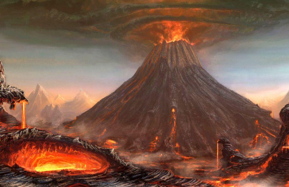 erupsi gunung iklim © 2018 Istimewa
