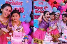 10 Momen meriah perayaan ulang tahun Bilqis anak Ayu Ting Ting