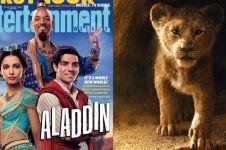 5 Film Disney yang akan tayang 2019, Lion King sampai Aladdin