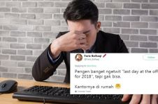 10 Cuitan lucu 'last day at the office' ini bikin senyum kecut