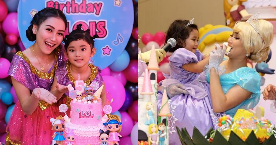 5 Beda gaya konsep ulang tahun Bilqis anak Ayu Ting Ting