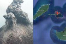 Semula 338 meter, tinggi Anak Krakatau terkikis jadi segini