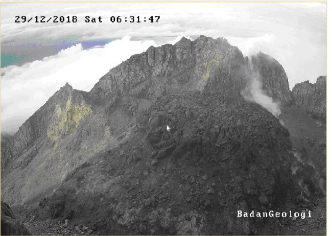 gunung meletus 2018 © 2018 berbagai sumber