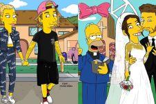 10 Seleb dunia diubah jadi karakter The Simpsons, hasilnya kece