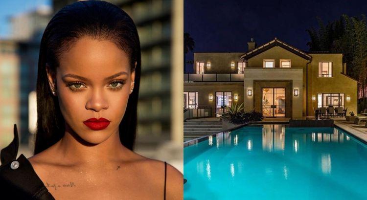 10 Potret rumah mewah Rihanna yang dijual seharga Rp 107 miliar