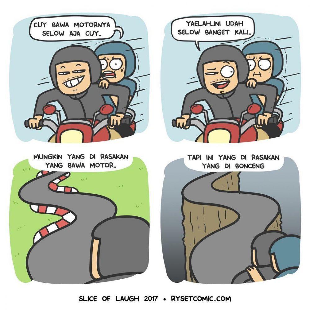 komik anak motor © 2018 berbagai sumber
