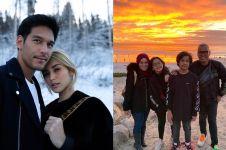 Potret seru 8 seleb liburan akhir tahun di Amerika Serikat