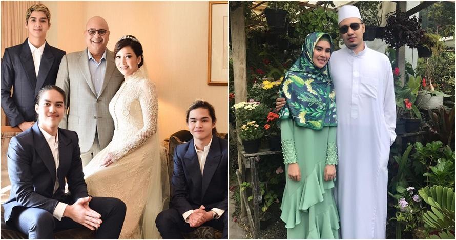 10 Seleb menikah diam-diam di tahun 2018, terbaru Aura Kasih