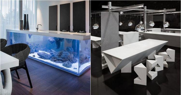 12 Inspirasi meja dapur unik, percantik rumah di awal tahun 2019