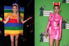 10 Gaya busana Miley Cyrus, dari vulgar hingga nyentrik
